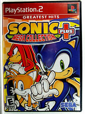 Sonic Mega Collection Plus (PS2) Complete - Clean,Tested & Fast Shipping