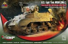 M5A1 MID - NORMANDY 1944 (U.S. ARMY MARKINGS / STUART/HONEY) 1/72 MIRAGE