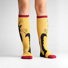 SOCK IT TO ME KNEE HIGH SOCKS - CHAT NOIR