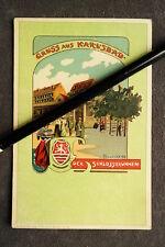 Künstlerkarte - Karlsbad Schlossbrunnen nach V.Havlicek / Verlag Brünn  / AK 25