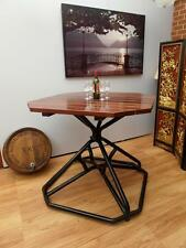 COMMERCIAL Quality SOLID Jarrah In or OUTDOOR Bar TABLE Heavy STEEL Base NEW SA