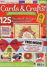 Cards & Crafts for Christmas * 2016 Edition * FREE Paper Pack * 125 Designs *