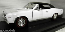 Ertl 1/18 Scale 29060 1967 Chevelle L-78 Cannaday's hobby wht diecast model car