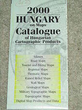 Cheap and cheerful guide to maps of Hungary
