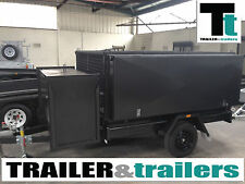 8x5 GARDENING TRAILER HEAVY DUTY Ramp - Trailer & Trailers *NEW TYRES*