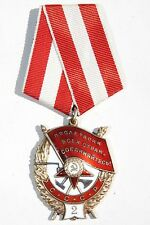 Original!!! Soviet USSR Russia WW2 WWII Order of Red Banner 2 SN#22078