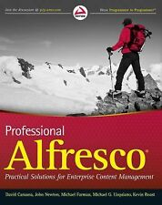 Professional Alfresco: Practical Solutions for Enterprise Content Management, Ro