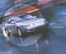 2000 OLDSMOBILE ALERO Brochure / Pamphlet w/Color Chart: GX,GL,GLS