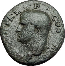 Marcus Vipsanius Agrippa Augustus General Ancient Roman Coin by CALIGULA i58018
