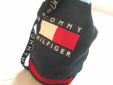 Tommy Hilfiger Big Logo Canvas Bucket/Duffel Bag. Good Condition.