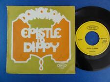 DONOVAN  EPISTLE TO DIPPY epic German p/s 45 EX