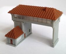 Outland Models Train Railway Layout Overhead Signal Tower(Double Track) Z Scale
