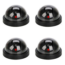 4 X Dummy Dome Security Camera CCTV False IR LED Flashing Red Light Outdoor JQ