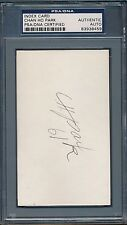 Chan Ho Park Signed Index Card PSA/DNA Certified Authentic Auto *8459