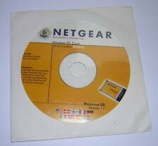 Software Driver Install CD-ROM for Netgear MA521 PCMCIA Wireless LAN Adapter