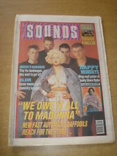 SOUNDS 1990 NOVEMBER 3 NEW FADS NORTHSIDE BLUR HAPPY MONDAYS TEENAGE FANCLUB