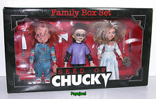 Child's Play Seed Of Chucky Family Box Set NECA Reel Toys (Out 0f Production)