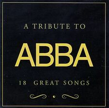 A TRIBUTE TO ABBA - 18 GREAT SONGS / PERFORMED BY ABBARATION / CD - NEUWERTIG