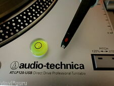 Vinyl Guru Turntable Gauge Set Up Device 18mm Bubble Spirit Level