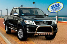 Toyota Hilux 2012-2016 CE APPROVED BULL BAR PUSH BAR GRILL GUARD WITH SKID PLATE