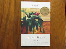 "C.  K.  WILLIAMS  Signed  Book (""REPAIR""-Pulitzer  Prize  Winner  2000)"