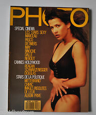 - PHOTO French MAGAZINE #248 SOPHIE MARCEAU Cover 1988 Ronald Reagan -