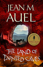 Jean M Auel The Land of Painted Caves - Earth's Children Book 6 Very Good Book