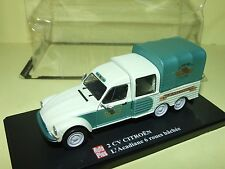 CITROEN 2CV ACADIANE DOUBLE CABINE PICK UP 6 ROUES  AUTO PLUS 1:43