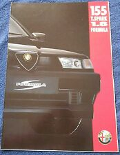 Alfa Romeo 155 Prospekt 1994 Deutsch Brochure Depliant no book buch press