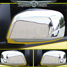 Fits 05-15 NISSAN FRONTIER Chrome Mirror Covers Overlays Trims Caps 2pc L/R