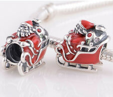 European Dual color Charms pendant Bead For s925 Bracelet Chain us hot sell 6hx
