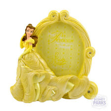 Disney Parks Princess Belle Beauty and the Beast Oval Photo Picture Frame