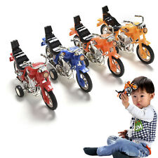 Pull Back Motorcycle Vehicle Toys Gifts Children Kids Motor Bike Model
