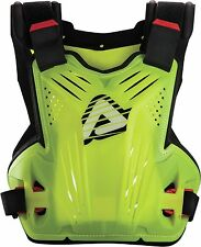 Acerbis impact roost chest protector body armour flo yellow one size