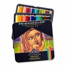 Prismacolor Premier Soft Core Colored Pencil Set 48 Assorted 3598T NEW