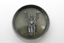 Men Belt Buckle Silver Metal Heavy Grey Skeleton Skull Motorcycle Biker Bones
