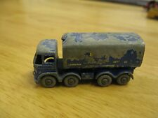 MATCHBOX LESNEY MOKO 10 FODEN 15 TON SUGAR CONTAINER TATE & LYLE  No Box