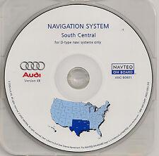 2002 2003 2004 Audi A4 A6 Allroad Navigation CD Cover TX OK AR LA MS +Partial TN