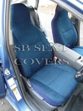 TO FIT A TOYOTA STARLET, CAR SEAT COVERS, TITANIUM BLUE