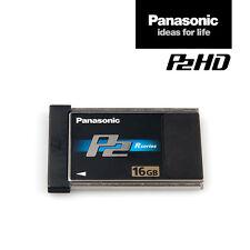Panasonic card aj-p2c016rg | 16 gb p2 de memoria-mapa Black R-series | IVA. - RNG.
