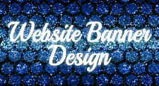 WEBSITE BANNER  -  Graphic Design - custom request - professional service 100%