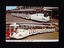 Original 1960's Sightseeing Train, Ocean City, Maryland Vintage Postcard