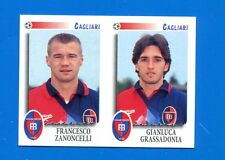 CALCIATORI PANINI 1997-98 Figurina-Sticker n. 431 -ZANONCELLI-GRASS CAGLIARI-New