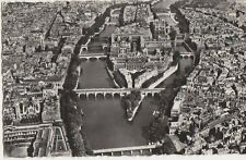 En Avion Sur Paris RP Postcard France 0947