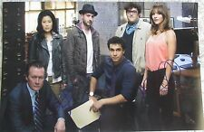 SCORPION CAST SIGNED 11x17 PHOTO KATHARINE MCPHEE ROBERT PATRICK DC/COA (RARE)