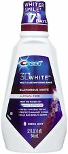 Crest3D White Glamorous White Whitening Fresh Mint Flavor Mouthwash 8fl oz 237ml