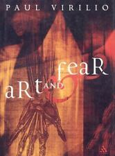 Art and Fear (Athlone Contemporary European Thinkers)-ExLibrary