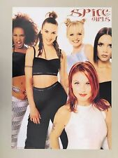 SPICE GIRLS, RARE, AUTHENTIC 1997  POSTER