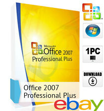 Microsoft Office 2007 Professional Plus Deutsch