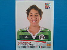 Panini FIFA Women's World Cup Canada 2015 - N.473 NOYOLA MEXICO